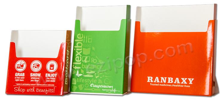 The Power of One (Colour) - EZIPOP cardboard brochure holders ...
