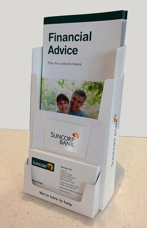 You Can Bank On It Ezipop Cardboard Brochure Holders Green